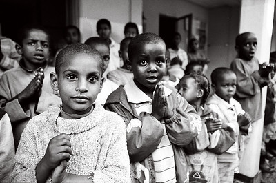 Children at the Abebech Gobena Orphanage in Addis Ababa, Ethiopia
