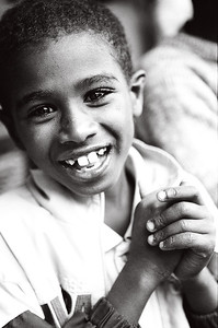 Child at the Abebech Gobena Orphanage in Addis Ababa, Ethiopia