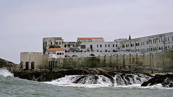Cape Coast Castle was a main slave trading post when Ghana was under British rule.