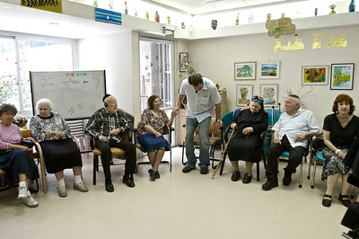In the Alzheimer's Unit of the Shaare Zedek Medical Center, Jerusalem, Israel