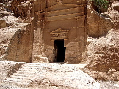 The city of Petra was carved out over 2,000 years ago by the Nabataens