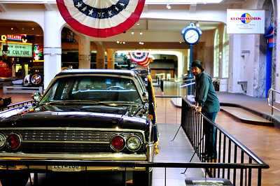 The Henry Ford Museum preserving the all American Classics, ideas and innovations. From the Mustang to Rosa Parks bus ride.