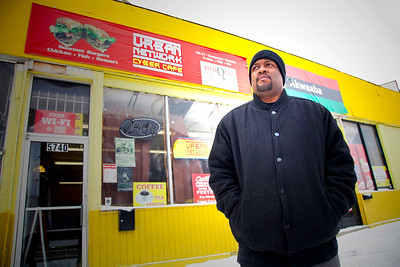Yusef Shakur Founder of Urban Network. Detroit Community Artist's Supporting the City through Art, Technology and Neighborhood Activism.