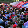 Ole Miss, fans gather at the largest Tailgate Party in NCAA Football