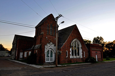 The Old Catholic Church on Chiz Street, Shaw MS