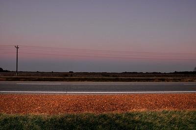 Hwy 61 at dusk