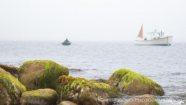 Landing at Seal Island