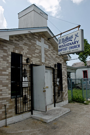 St. Matthews Missionary Baptist Church in New Orleans, Louisiana
