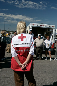 Red Cross staff and volunteers in Mississippi