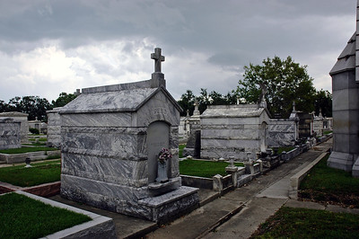 A cemetary in New Orleans, Louisiana