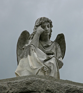 At a cemetary in New Orleans, Louisiana