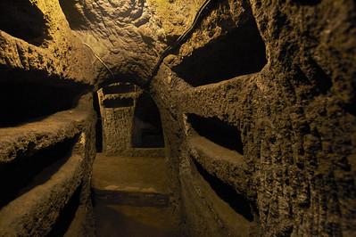 Saint Priscilla's Catacombs, Rome, Italy