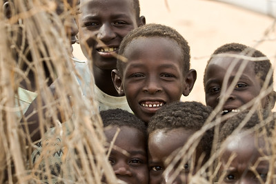 Local children in Gereida, Sudan