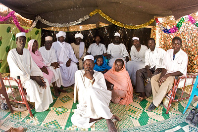 At a sheikh's wedding in the village of Gereida, Sudan