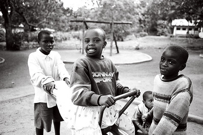 Children at the Sibusiso School, Tanzania
