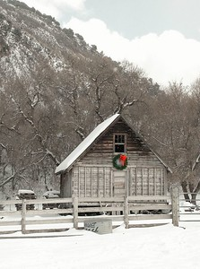 "I was driving up the south fork of the Provo Canyon and saw this little ""Holiday Shack"". I sold this image to a company that distributes holiday decorations. They used it in their catalog. I've also sold it as a framed fine art print."