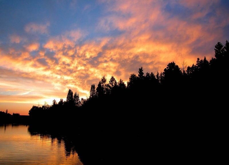 This was a week long camping trip at Kent's Lake in the Fish Lake National Forest. We had some great sunsets.