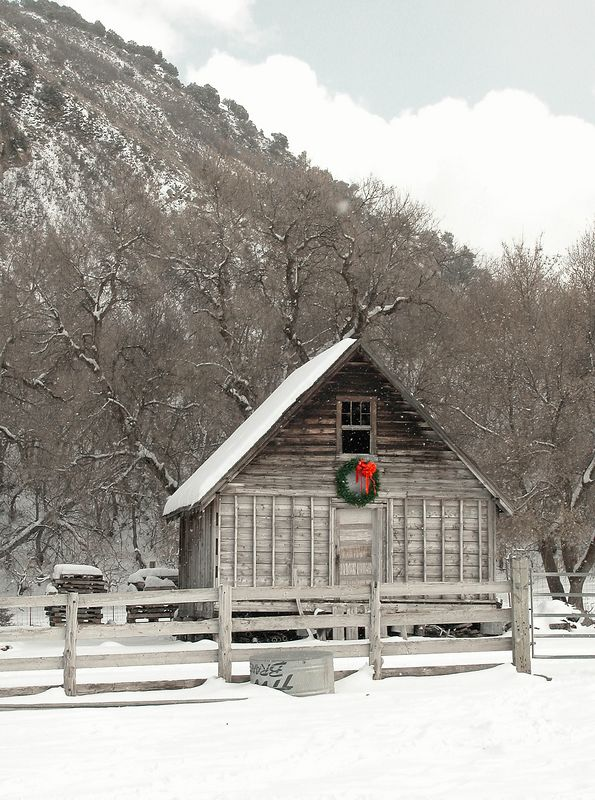 """I was driving up the south fork of the Provo Canyon and saw this little """"Holiday Shack"""". I sold this image to a company that distributes holiday decorations. They used it in their catalog. I've also sold it as a framed fine art print."""