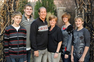2011/12/19 – A couple of days ago I did family photos for some good friends in our ward – Daril and Dana Mableby. I did individual photos as well as several different family shots. This was my personal favorite of the family shots. Kyle, the big guy second from the left, goes into the MTC on Wednesday 12/21 just before Christmas. He is going to serve in Russia. Christmas will be hard on the family without their oldest son.