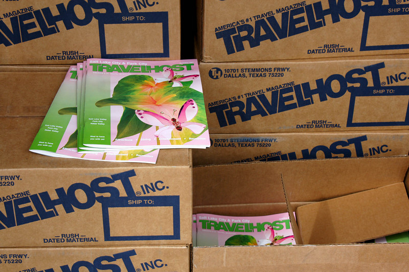 3/30/07 – We started moving into our new offices in Orem today. It was a good thing because I got a call from the freight company 10 minutes before our April issue of TRAVELHOST magazine arrived at our home. I got there about the same time the truck did. This is our last magazine. We've sold it to a good friend and neighbor who will be taking it over starting next week.