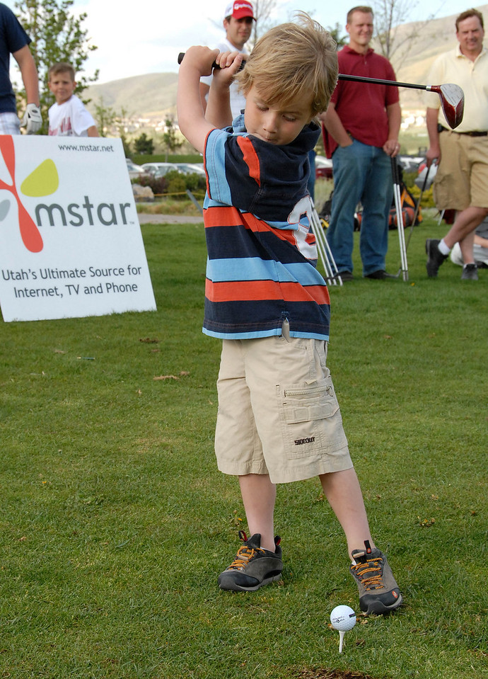 5/2/07 – Today was our Mstar Short Game Challenge. We are getting some very young players. This is the youngest yet. He is 5 years old. He did much better than most the men. The player who took 3rd was 8 years old.
