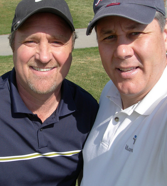 3/23/07 – I had a fun opportunity to play golf and do business at the same time today. That's me on the right and Rod Zundel, the sports anchor at KSL TV. We played 18 holes at Alpine Country Club and discussed a potential sponsorship opportunity for Mstar. If we partner with KSL on the project I'm sure I'll have photos in the future. Rod didn't play his best but good enough to pound me.