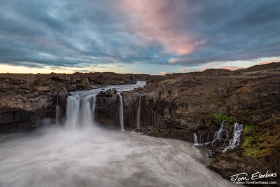 Aldeyjarfoss Sunset