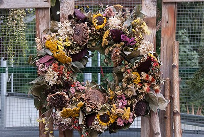 Fall decor for your door!