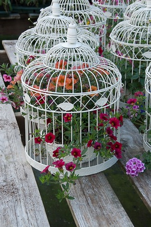 Beautiful Vintage Birdcages