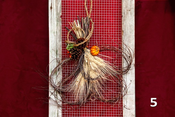 #5 - Harvest door charm.