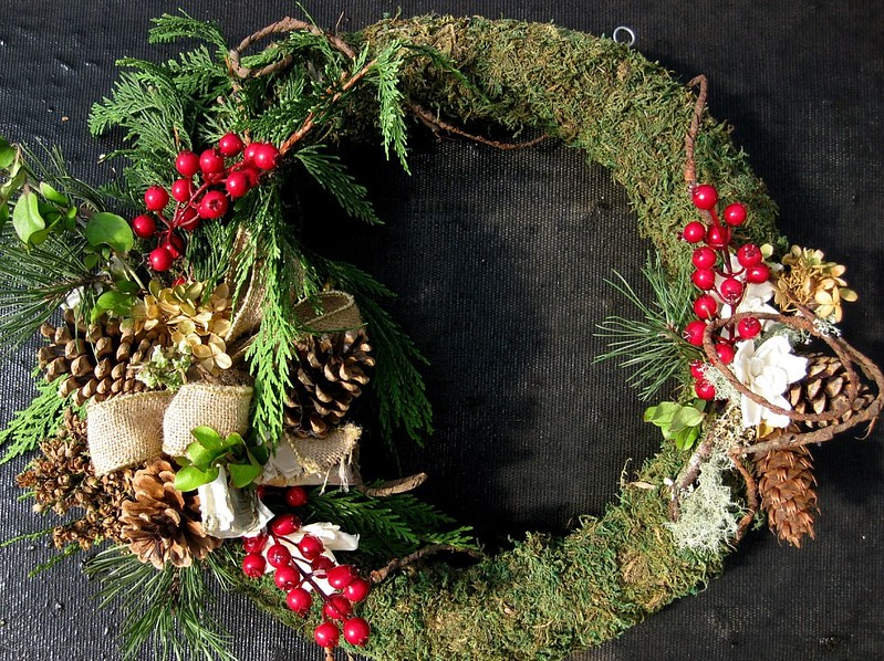 Wreath Round Decorated