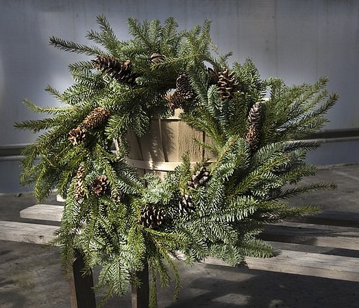 Wreath Round Evergreen