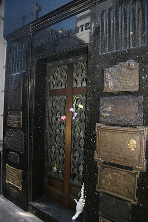 Tomb of Evita Peron
