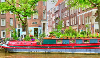 Gorgeous houseboat - Amsterdam