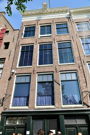 The Anne Frank House - This is one of those experiences that stays with you. It is almost impossible to comprehend what happened to the people who lived in the space you are standing in. An audio guide leads you through the many rooms of the house. Especially moving for us was being in the room Anne slept in, seeing photos she had glued to her walls that brought her a bit of joy. I felt humbled to be able to be in that space to reflect on the lives of the people that endured such horrors. If you ever find yourself in Amsterdam,  this is a unique experience and one that should not be missed.