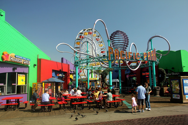 In 1996 Pacific Park opened at Santa Monica Pier, bringing back the first full-scale amusement park on the Pier since the 1930's, and the first roller coaster, the West Coaster, since the Whirlwind Dipper let off its last customers over six decades earlier.