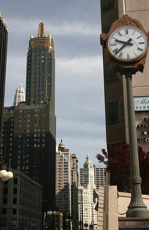The beautiful Carbide and Carbon Building adorned in gold!