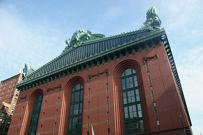 Harold Washington Library Center...the country's largest public library...beautiful!