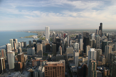 View from the John Hancock (Sears Tower - top right)