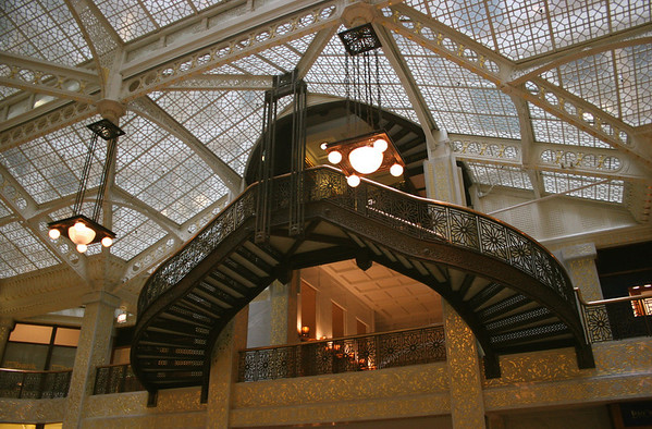 Inside the beautiful Rookery.