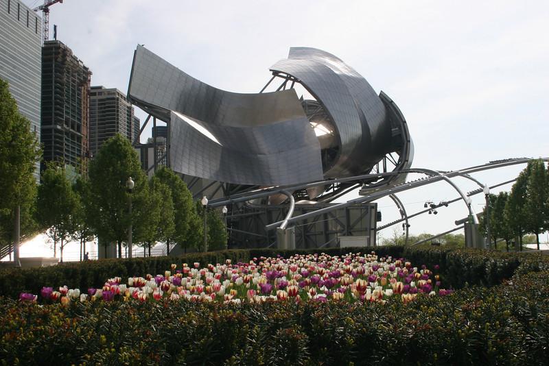 Jay Pritzker Pavillion at Millenium Park