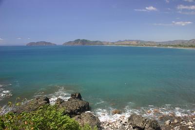 The Pacific coast