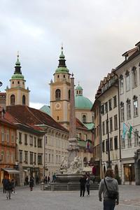 Cathedral of St Nicholas - Ljubljana