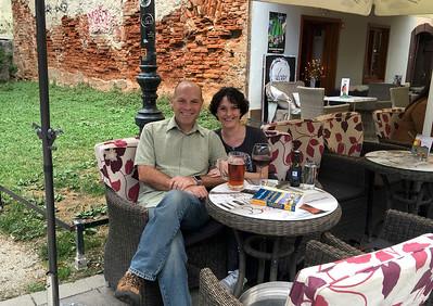 Enjoying a break on the pedestrian-friendly Tkalčićeva Street, lined with outdoor cafes. - Zagreb