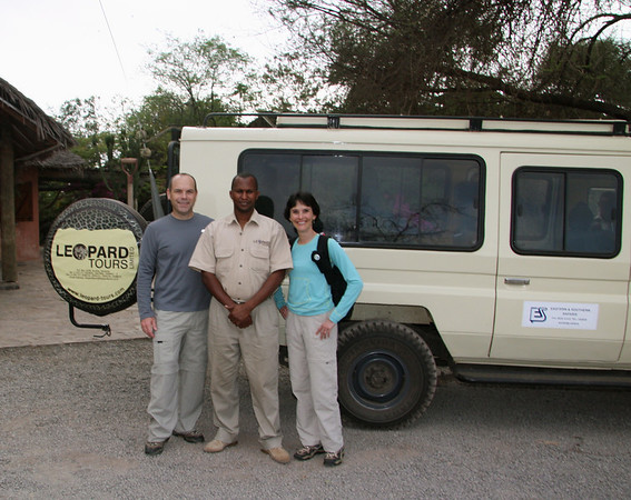 We wake up and begin our safari in Tanzania with Leonce, our guide for the next 5 days.