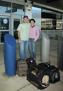 Packed and ready to go!! The start of our long journey. We flew Delta Airlines - Boston to Atlanta and Atlanta to Amsterdam. Then we flew KLM - Amsterdam to Kilimanjaro.