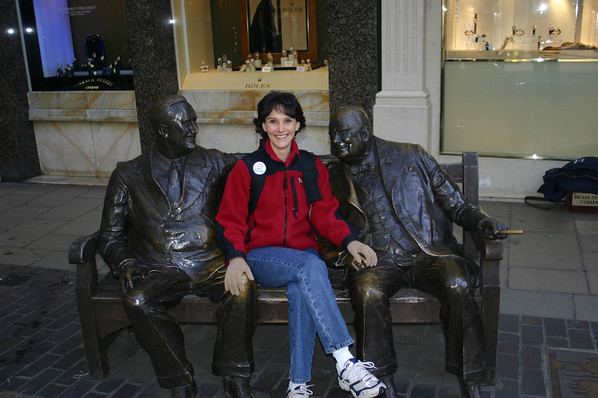Me, FDR and Churchill