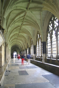 Hallway in Westminster Abbey