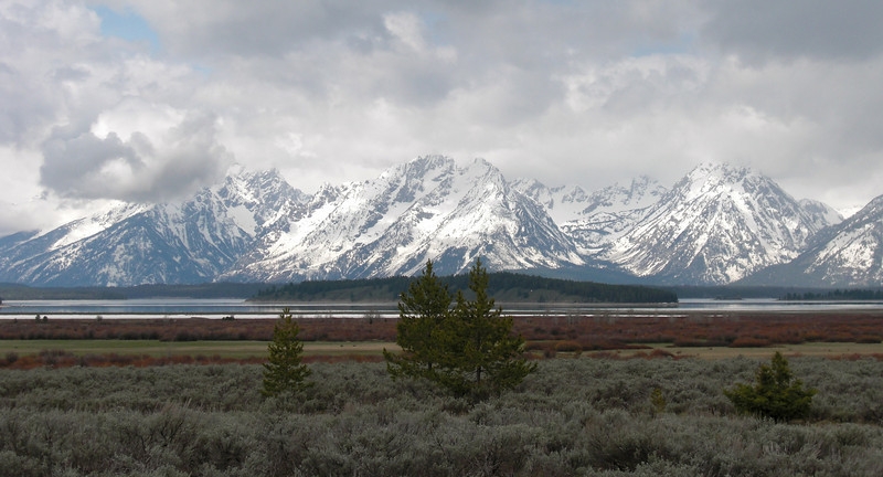 The breathtaking Teton Range!