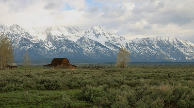Moulton Barn on Mormon Row -  Grand Teton National Park